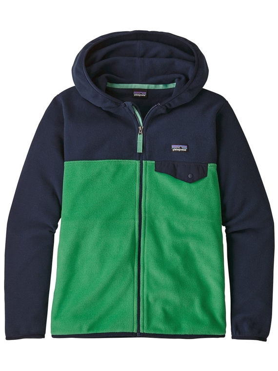 Patagonia Micro D Snap-T Fleece Ski jas groen