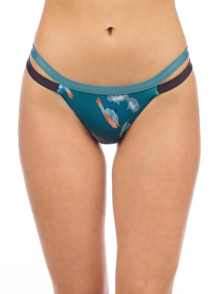 Patagonia Nanogrip Banded Bikini Bottom blauw