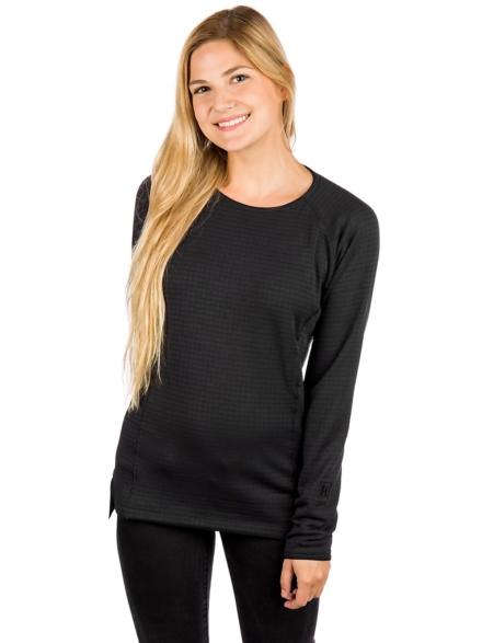 Patagonia R1 Crew Tech t-shirt met lange mouwen zwart