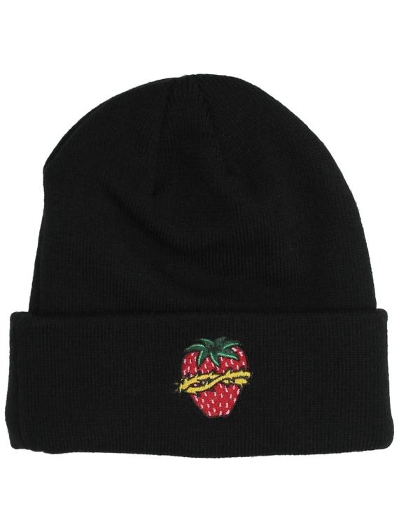 A.Lab Cameron Strawberry Beanie zwart