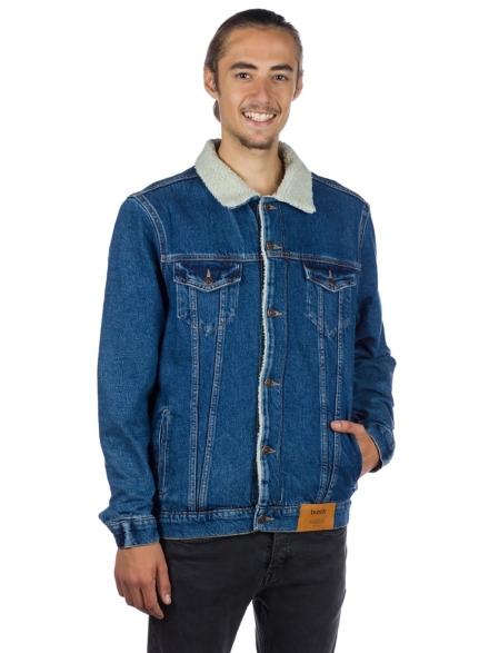bunth Sherpa Ski jas blauw