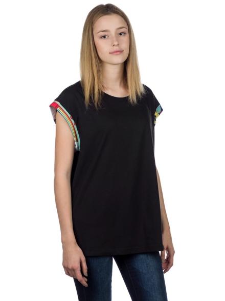 bunth Armring T-Shirt zwart