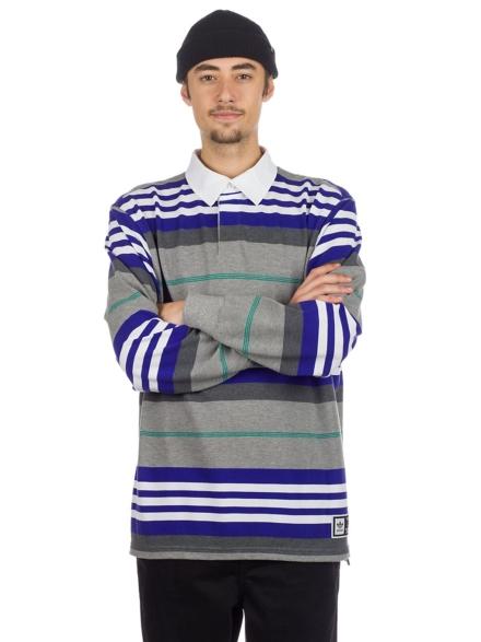 adidas Skateboarding Cleland Polo Shirt blauw