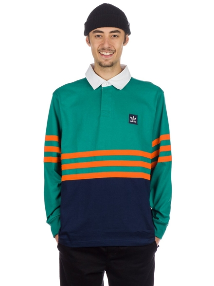 adidas Skateboarding Winchell Polo Shirt groen