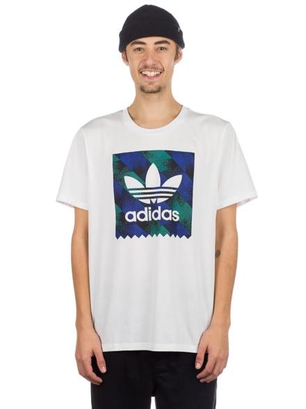 adidas Skateboarding Towning BB T-Shirt wit