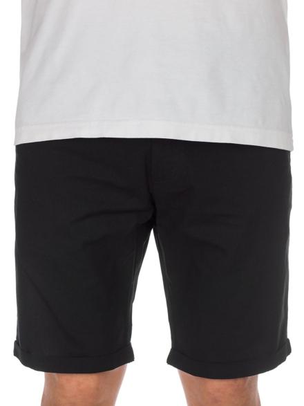 Iriedaily Golfer Chambray korte broek zwart