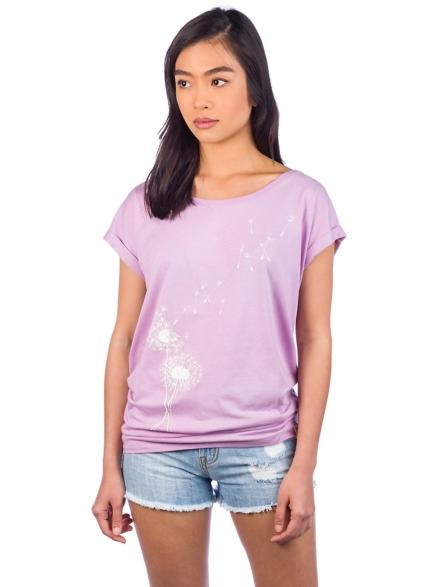 Iriedaily Pusteblume T-Shirt paars