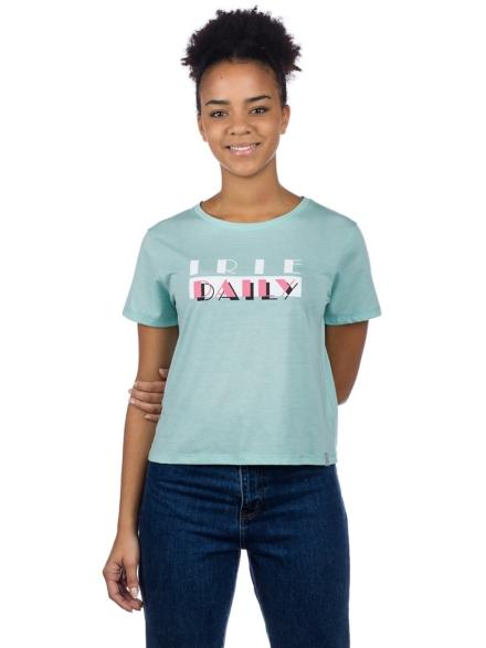 Iriedaily My Ami Girl T-Shirt groen