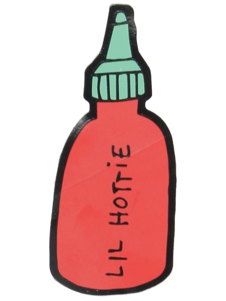 Jac Vanek Lil' Hottie Sticker patroon