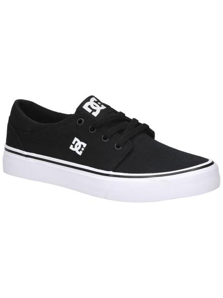 DC Trase TX Sneakers zwart
