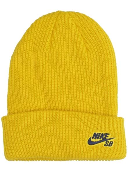 Nike Fisherman Beanie geel