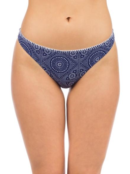 Roxy To The Beach Moderate Bikini Bottom blauw