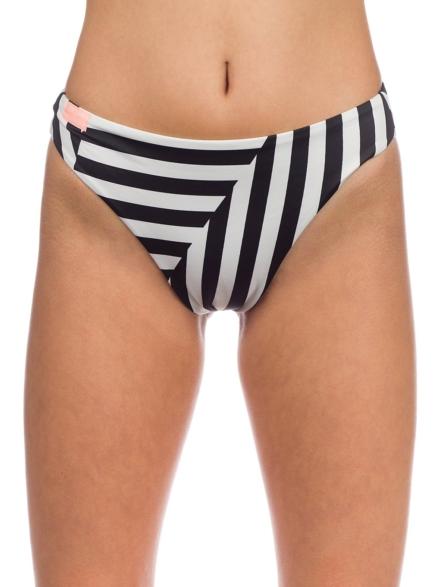 Roxy Pop Surf Reg High Leg Bikini Bottom zwart