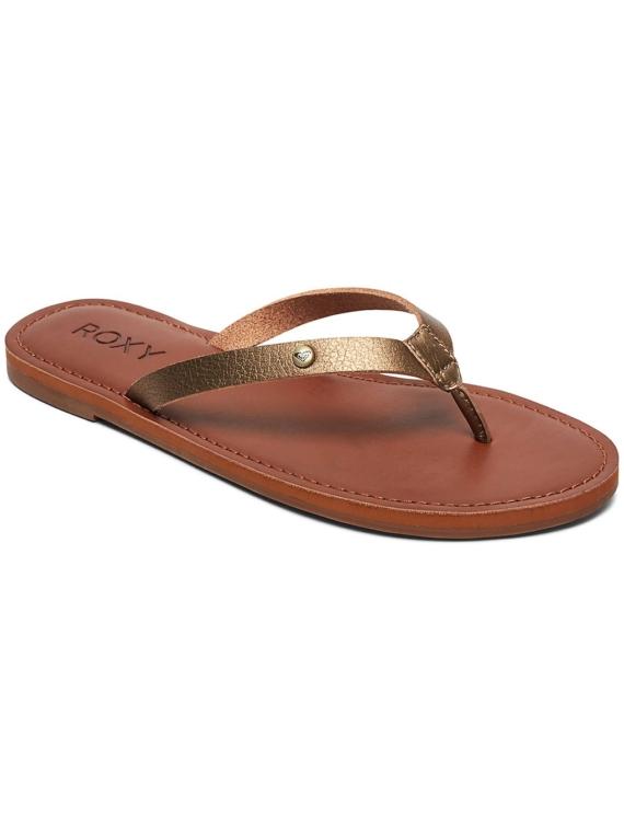 Roxy Janel slippers bruin