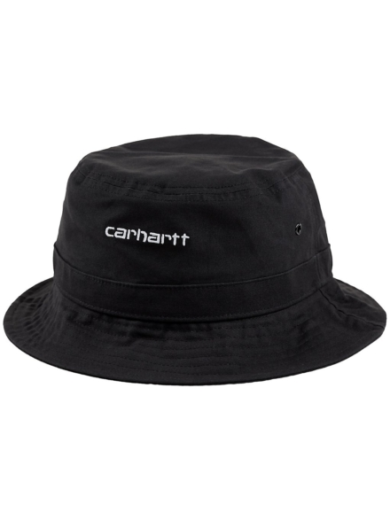 Carhartt WIP Script Bucket hoed zwart