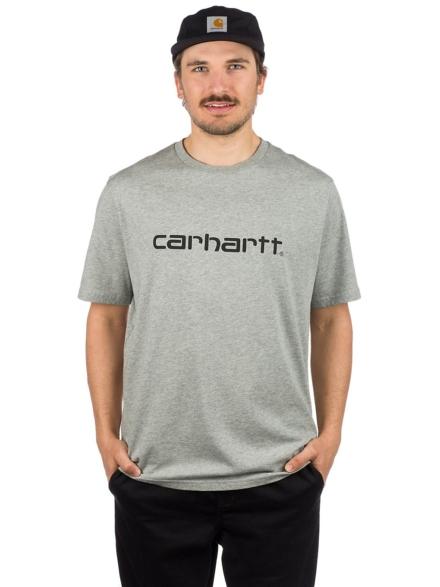 Carhartt WIP Script T-Shirt grijs