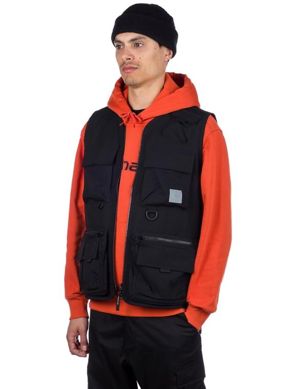 Carhartt WIP Elmwood Vest zwart