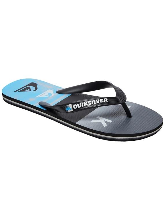 Quiksilver Molokai Wordblock Volley slippers zwart