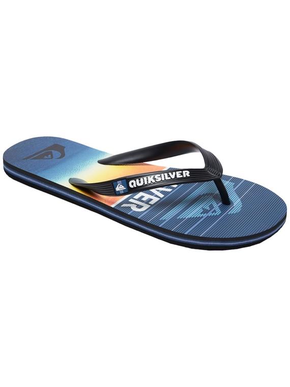 Quiksilver Molokai Highline Slab slippers zwart