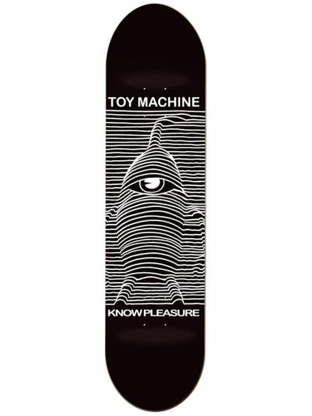 """Toy Machine Toy Division 8.5"""" Skateboard Deck zwart"""