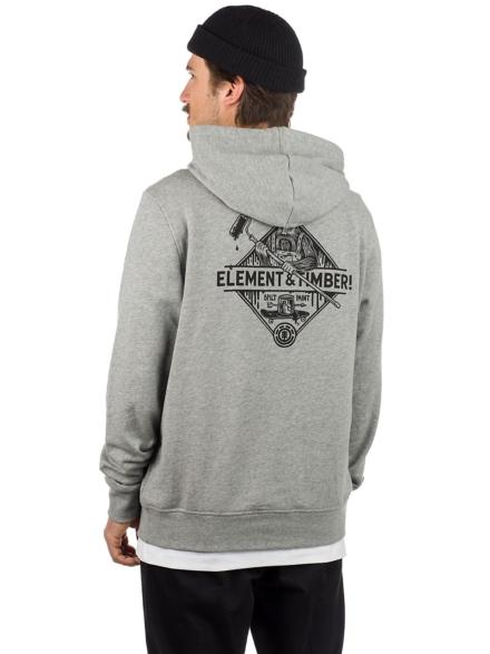 Element Rolling Hoodie grijs