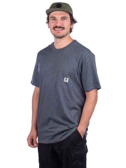 Element Basic Pocket Label T-Shirt grijs