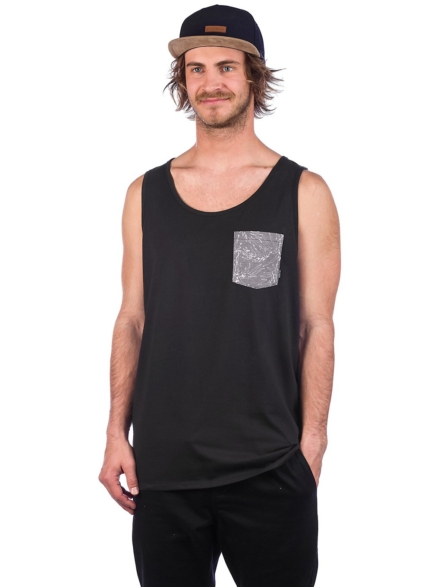 Billabong All Day Printed Tank Top zwart