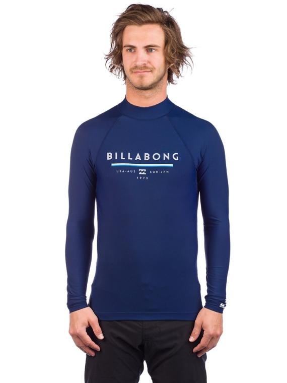 Billabong Unity Longsleeve Lycra blauw
