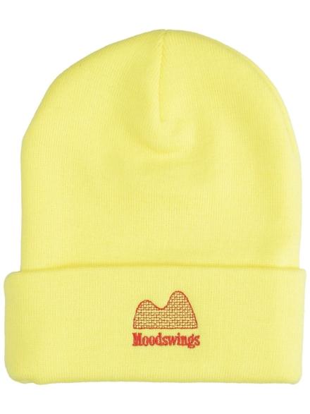 Moodswings Ups & Downs Beanie geel