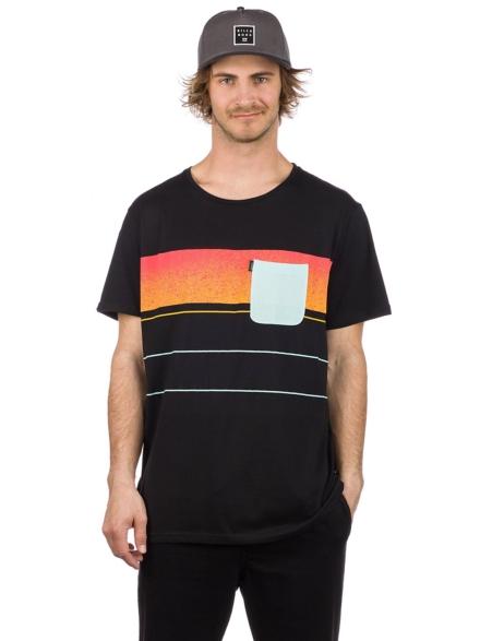 Rip Curl Squad Block T-Shirt zwart