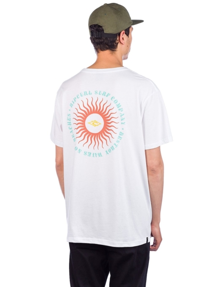 Rip Curl The Origins T-Shirt wit