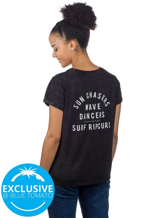Rip Curl Wave Dancers T-Shirt zwart