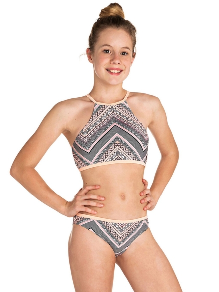 Rip Curl Mystic Sun High Neck Bikini Set patroon