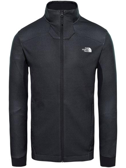 THE NORTH FACE Apex Midlayer Fleece Ski jas zwart