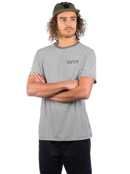 Volcom Feeder Crew T-Shirt blauw
