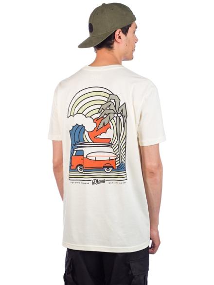 Dravus Coastal Vibes T-Shirt wit