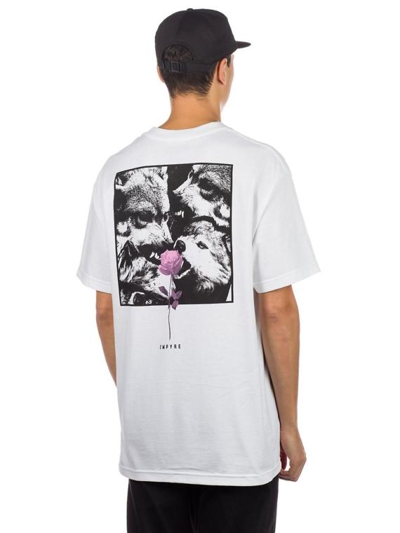 Empyre Lupi Rose T-Shirt wit