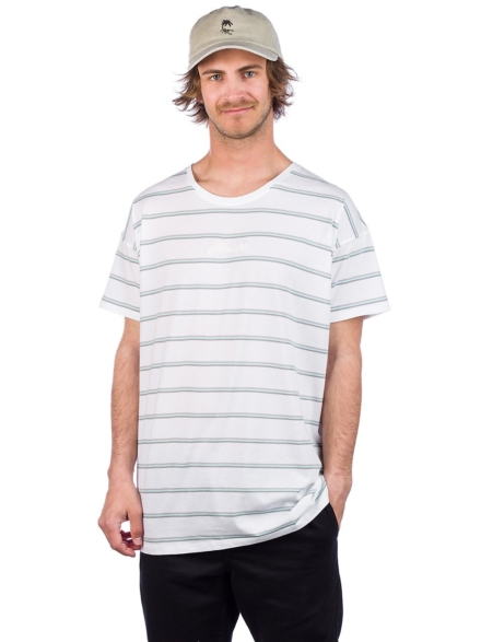 O'Neill Striped Wow T-Shirt wit