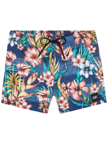 O'Neill Summer-Floral Boardshorts blauw