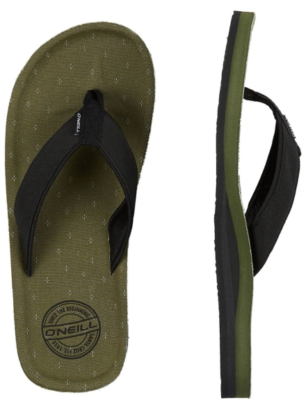 O'Neill Chad Structure slippers groen