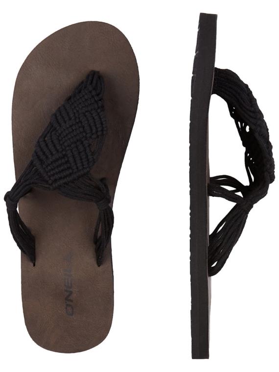 O'Neill Crochet slippers zwart