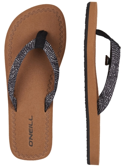 O'Neill Woven Strap slippers zwart