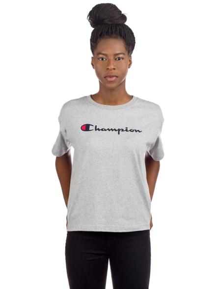 Champion American Logo T-Shirt grijs