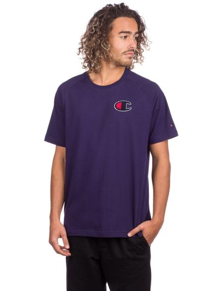 Champion Logo T-Shirt paars