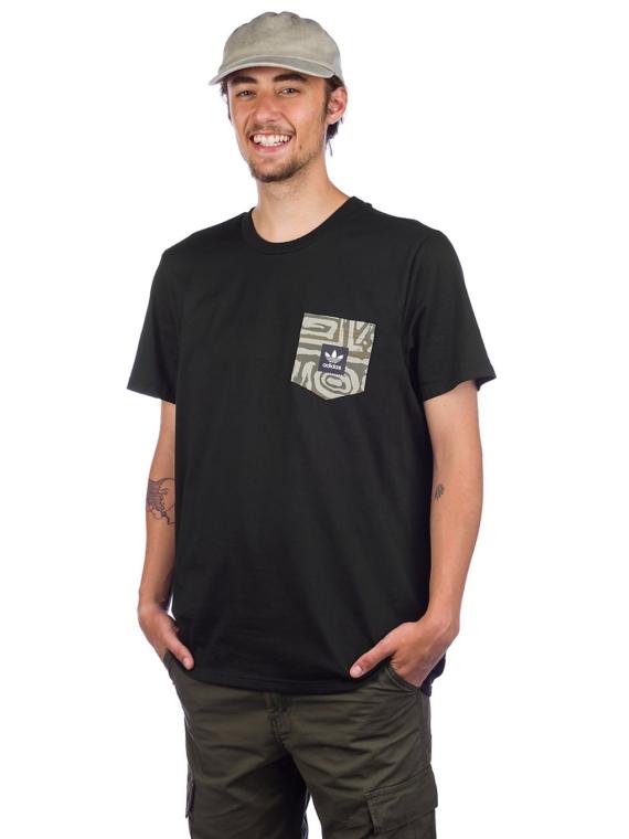 adidas Skateboarding Dakari Pocket T-Shirt zwart