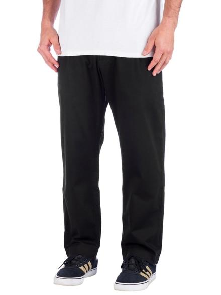 REELL Reflex Loose Chino broek Normal zwart