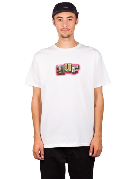 HUF Town T-Shirt wit