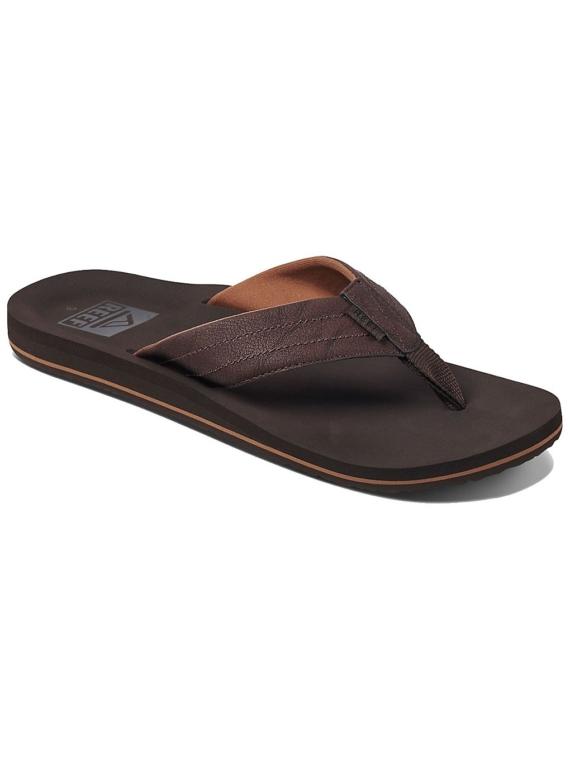 Reef Twinpin Lux slippers bruin