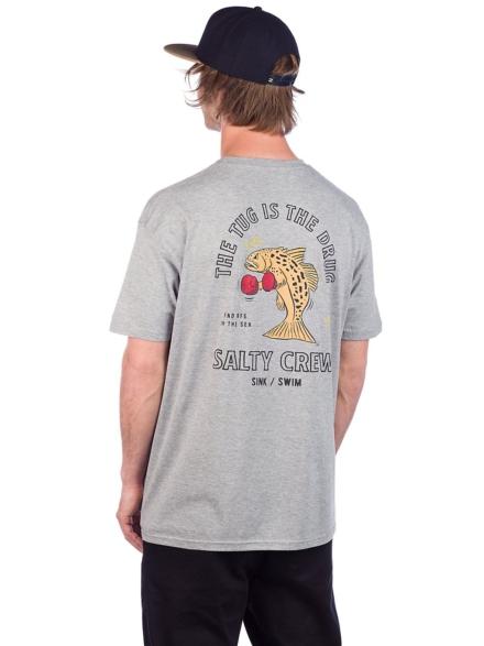 Salty Crew Knockout T-Shirt grijs