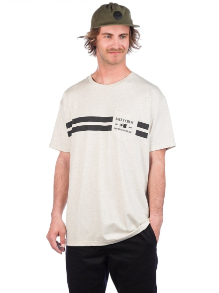 Salty Crew Hobart Pocket T-Shirt wit